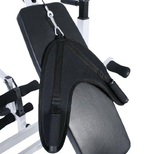 Physionics panca fitness multifunzione panca pesi - Porta bilanciere ...