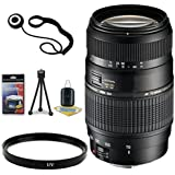 Tamron AF 70-300mm F/4.0-5.6 Di LD Macro Zoom Lens With Built In Motor For Sony Digital SLR Cameras + 62mm UV...