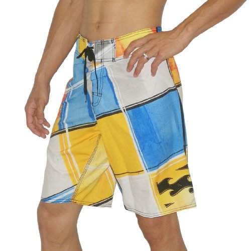 Mens Billabong SLIDER Skate & Surf Boardshorts Board Shorts- Multicolor(Size: 32)