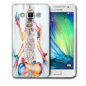 Snoogg Four Hands Printed Protective Phone Back Case Cover For Samsung Galaxy A3