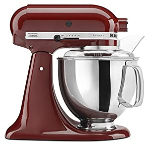 KitchenAid KSM150PSGC 5 Qt. Artisan Series with Pouring Shield - Gloss Cinnamon