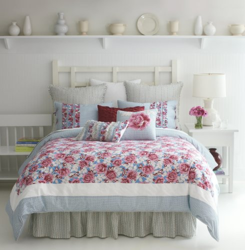 Modern Living Abigail Comforter Set, Full back-891301