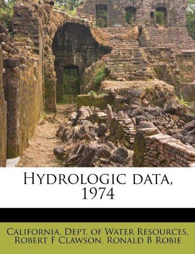 Hydrologic data, 1974