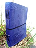 QualityArt-Handmade-Distressed-Leather-Journal-Blue-Mermaid-Diary-Gift-Embossed-Poetry-Book-Travel-Artist-8X6-Christmas-gifts