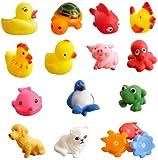 Baby Bath Squeak Toys