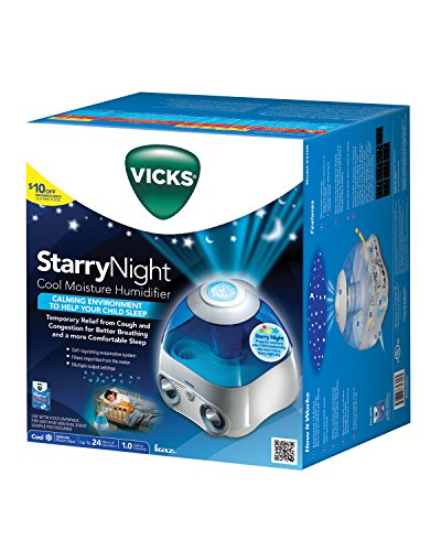 Vicks Vicks Starry Nights Cool Humidifier – Blue
