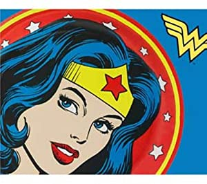 "WONDER WOMAN DC Comics Super Hero 45"" x 60"" Fleece Throw BLANKET"
