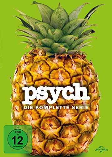 Psych - Die komplette Serie [Limited Edition] [31 DVDs]