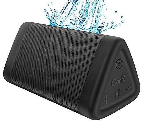 Cambridge SoundWorks OontZ Angle 3 Next Generation Ultra Portable Wireless Bluetooth Speaker : Louder Volume 10W+, More Bass, Water Resistant, Perfect Speaker for Echo Dot, Beach, Shower & Home, Black