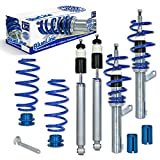 JOM 741043 Coilover suspension kit, JOM BlueLine, Seat Leon 1P 1.9TDi DSG/ 2.0TDi/ DSG Ø 50/55 mm!!, thread/spring