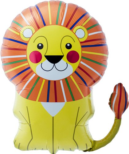 Lion Helium Foil Balloon - 28 inch