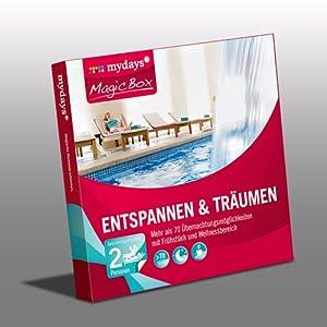 mydays Magic Box: Entspannen & Träumen - Über 75 Übernachtungen in Wellness-Hotels deutschland- & österreichweit