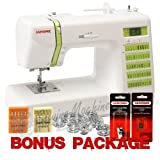Janome DC2012 Decor Computerized Sewing Machine with 50 Built-In Stitches w/ Hard Case + Walking Foot + 1/4