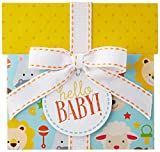 Amazon.com $25 Gift Card in a Hello Baby Reveal (Classic White Card Design)