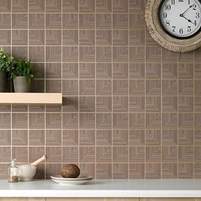 Bronze' Wallpaper in Mocha & Chocolate by wallpaper heaven