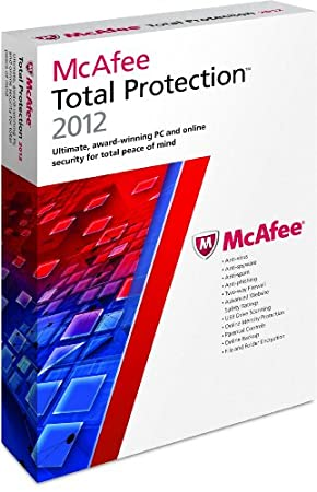 McAfee PC Attach Total Protection 1 User 2012