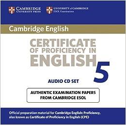 Cambridge Certificate Test