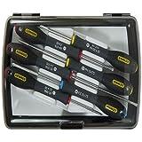 Stanley 065492 FatMax Precision Screw Driver Set (6 Pieces)