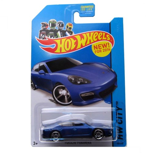 Hot Wheels 2014 Porsche Panamera (Blue) HW CITY 40/250 - 1