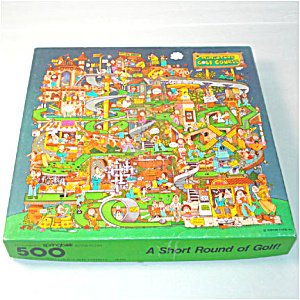 springbok Grand Master Series 500 Piece Puzzle - Split Personality - Two Separate Puzzles Mixed Together in One Box!