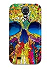 Brandy K. Fountain's Shop Christmas Gifts Premium Multi Color Skull Back Cover Snap On Case For Galaxy S4 GRH8DS3E0EE9V5HE