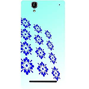 Casotec Pattern Design Hard Back Case Cover for Sony Xperia T2 Ultra