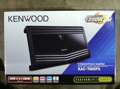 Kenwood KAC 7005PS Performance Series 5 Channel Power Amplifier