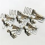 工業用 ミシン 四つ折り バインダー A10 テープ幅 16mm 24mm 30mm 36mm 45mm (5サイズ セット)