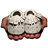 Baby Moccasins Butterfly Your World Gold Polka Dot (6-12 months (5
