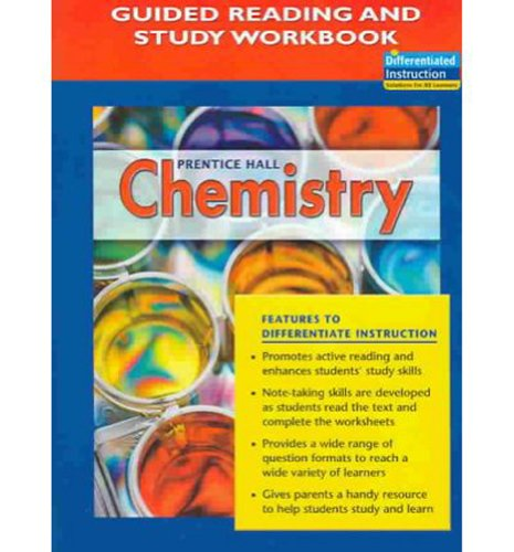 Prentice Hall Chemistry Guided Reading And Study Workbook