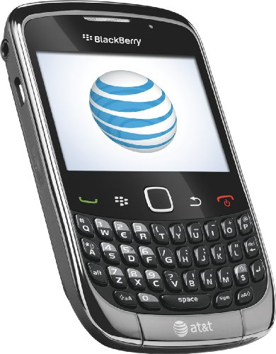 BlackBerry Curve 9300 Phone, Grey (AT&T)