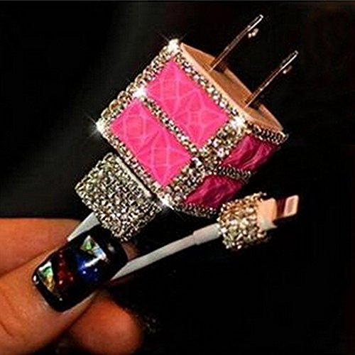 evtech-tm-usb-wall-charger-3d-bling-strass-cristal-glitter-chargeur-de-telephone-plug-rose