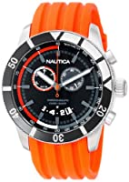 Nautica Men's N17586G NSR 08 Sporty Resin Watch from Nautica