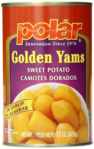Mw Polar Canned Cut Yams, 15 Ounce (Pack Of 24)