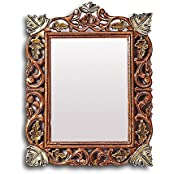 Aarsun Woods Duffie Brown Mirror Frame