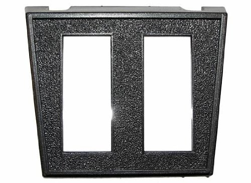 """Jt&T Products (2953F) - Switch Panel Mount With Two 7/16"""" X 1 1/8"""" Rectangular Slots"""