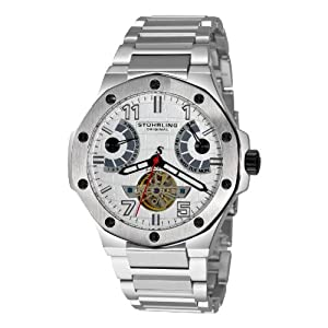 Stuhrling Original Men's 1160.33111 Spirit Pro Automatic Stainless Steel Watch