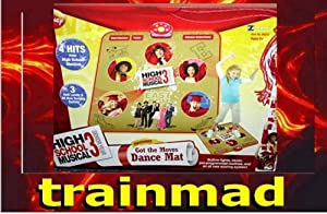 Disney's High School Musical 3 Senior Year Electronic Got the Moves Dance Mat