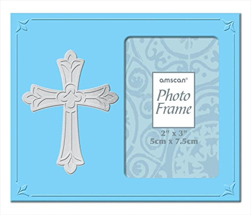 frame metal with cross - blue - 1