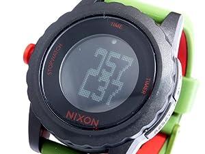 Unisex Watch Nixon A326-1048 Plastic Resin Case Digital Dial Quartz Silicone St