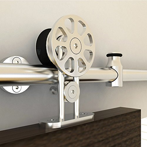Hahaemall 10ft Modern Design Heavy Stainless Steel Double