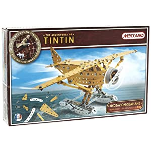 Flat 65% Off on Mecccano Tintin Sea Plane from Amazon - Rs 1679