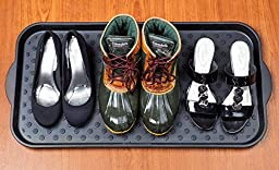 50% Off (Sale Ends Oct 31) Boot Tray | Eco-Friendly & Durable | Water- & Dirt-Resistant | Multi-Purpose Utility Tray for Shoes, Dog / Cat Food Bowls, Car Trunk, Painting, Gardening, Pet Litter etc.