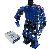 21軸2足ロボット組み立て用キット(ブルー)