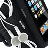 iGadgitz Water Resistant Neoprene Sports Gym Jogging Armband for iPod Touch 1st 2nd 3rd & New 4th Generation 8gb 16gb 32gb & 64gb