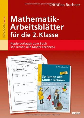 Buch Mathematik-Arbeitsblätter für die 2. Klasse: Kopiervorlagen zum ...