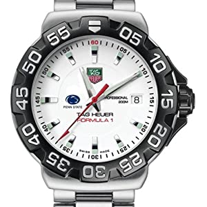 Penn State TAG Heuer Watch - Mens Formula 1 Watch with Bracelet by TAG Heuer