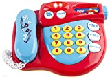 WolVol Voice Recorder Toy Telephone with Lights Music and Sounds