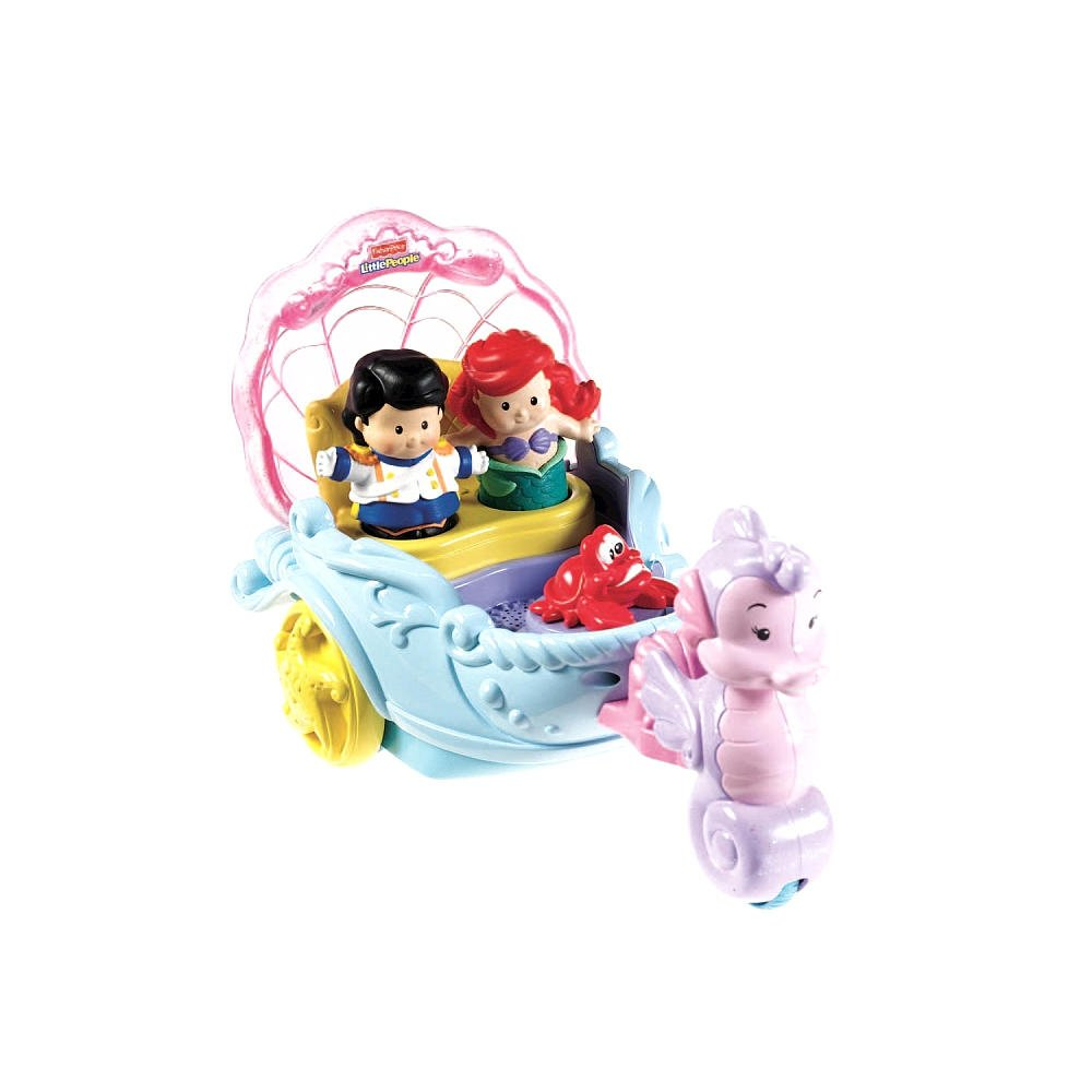 Fisher-Price Little People Disney Princess: Ariel's Coach $10.00