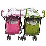 Aligle-Twin-stroller-raincoat-Universal-Size-Side-By-Side-Stroller-Weather-Shield-Baby-Rain-CoverWind-Shield